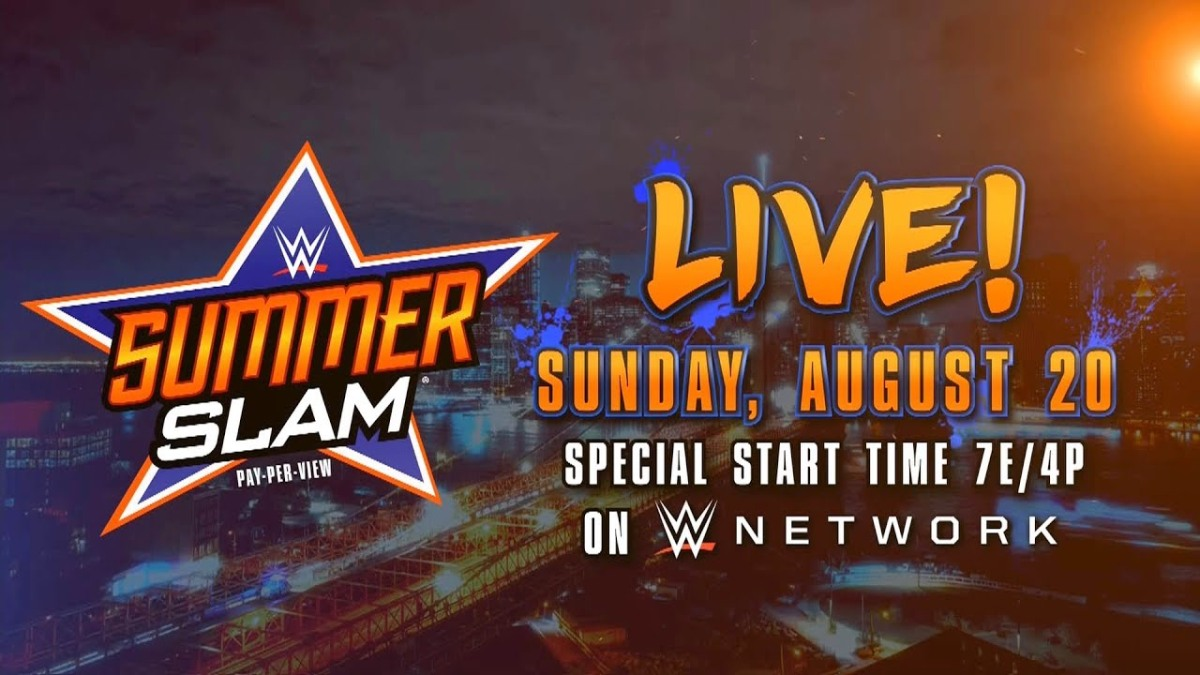 WWE SummerSlam Live Reaction and Results for 08/20/17 - Lesnar/Joe/Reigns/Strowman for the Universal Championship, Mahal vs. Nakamura for the WWE Championship, Cena vs. Corbin, Naomi vs. Natalya, Banks vs. Bliss, and much more!